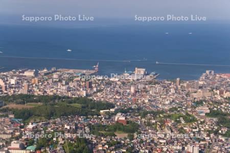 小樽市街展望
